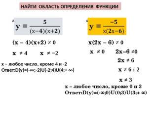Область определения функции — википедия. что такое область определения функции