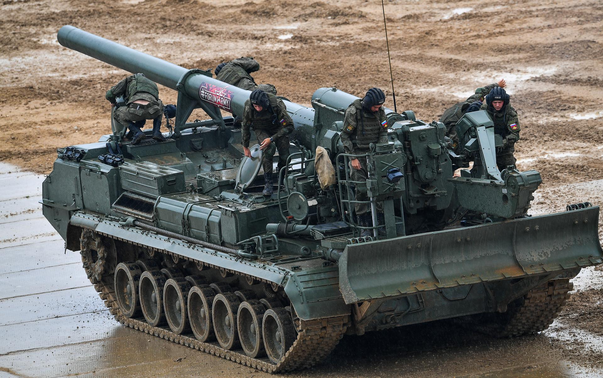 Безбашенная «малка»: как россия модернизирует сверхмощную пушку времён холодной войны — рт на русском