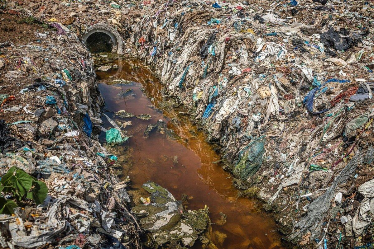 Определение загрязнение