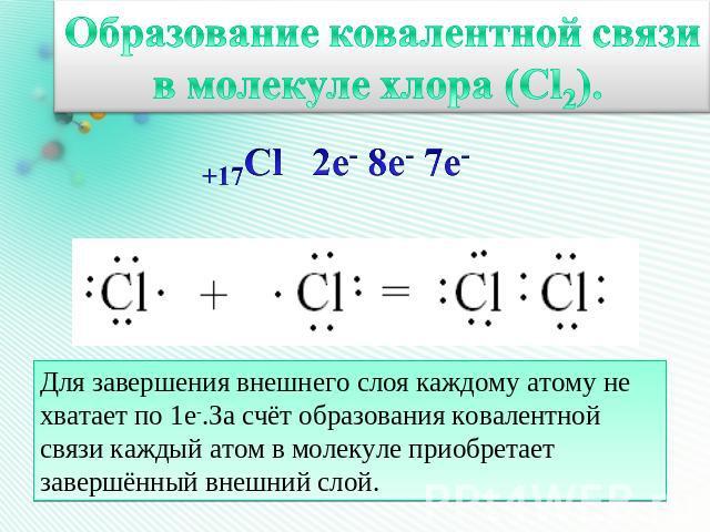 Ковалентная связь, полярная и неполярная, особенности, формулы и схемы
