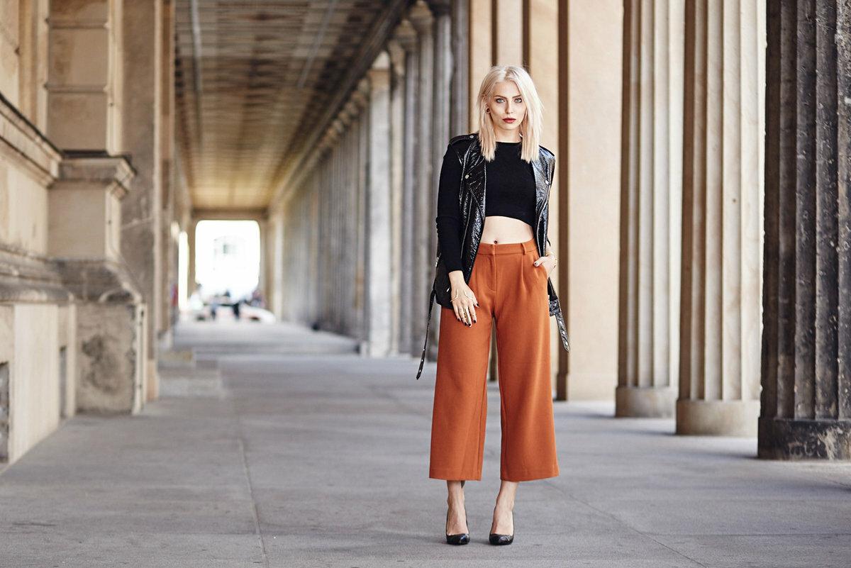 Мода на брюки кюлоты 2020