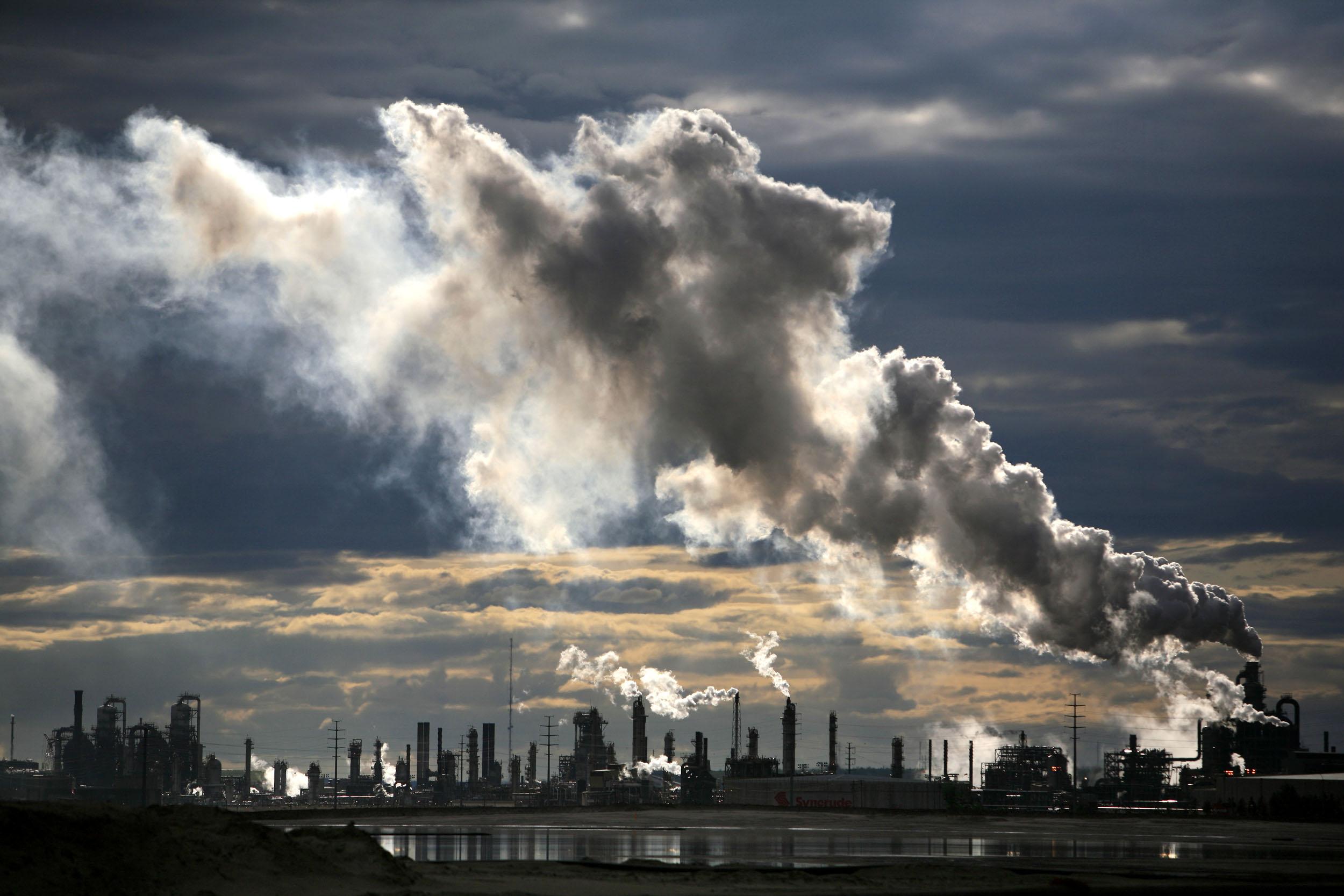 Угроза существованию человечества – загрязнение окружающей среды