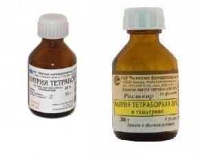 Тетраборат натрия: инструкция по применению