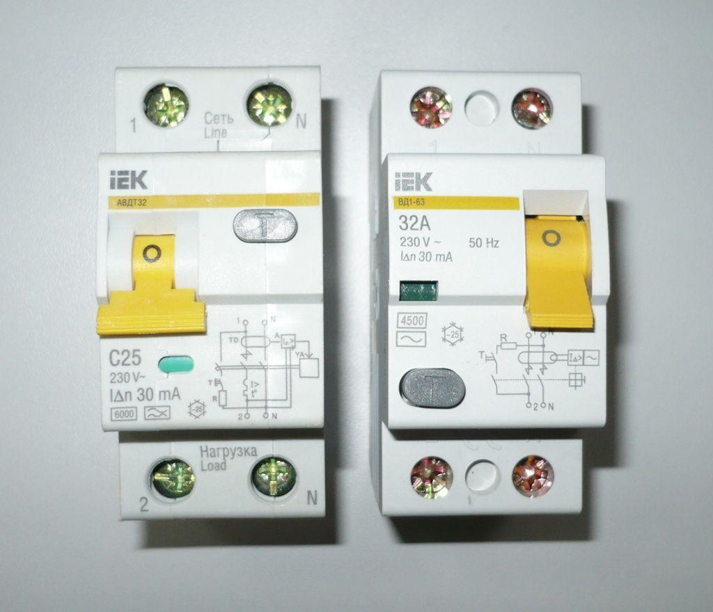 Дифференциальный автомат - конструкция и советы по выбору устройства (100 фото)