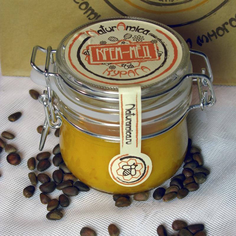 Крем-мёд. с чем его едят?