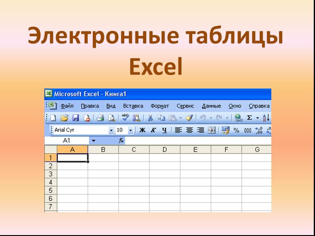 Что такое электронная таблица – примеры использования, основные элементы интерфейса и управления