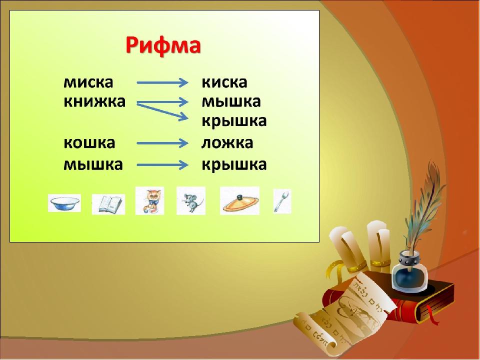 Рифма — википедия. что такое рифма