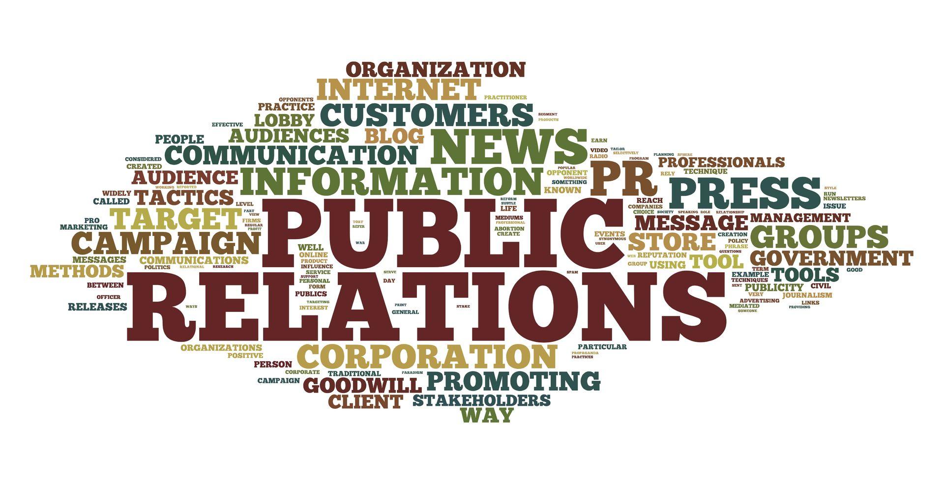 Public relations википедия