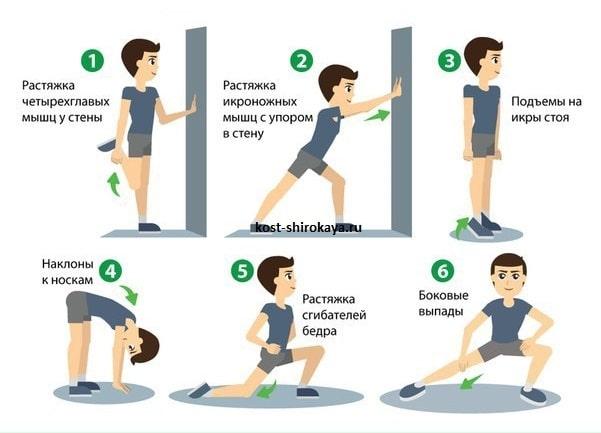 Разминка перед тренировкой — виды, правила выполнения