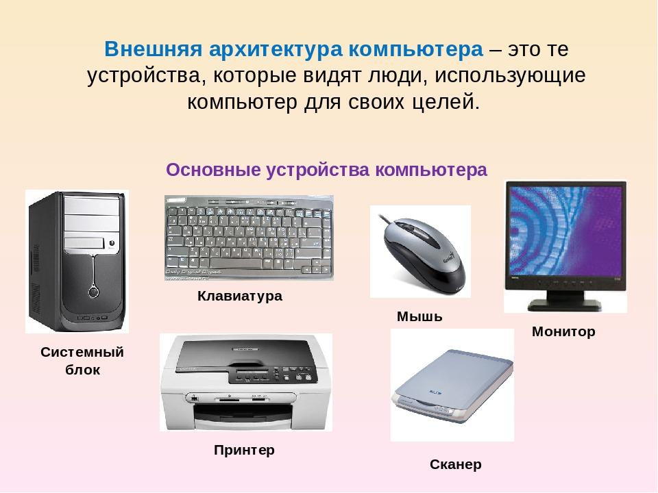 Архитектура компьютерной системы: классификация и определение
