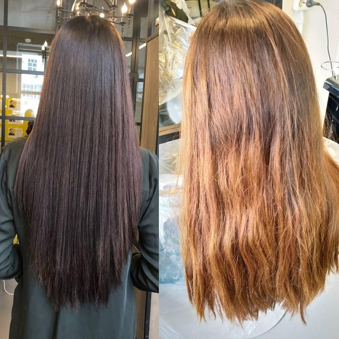 Тонирование волос: плюсы и минусы, фото до и после