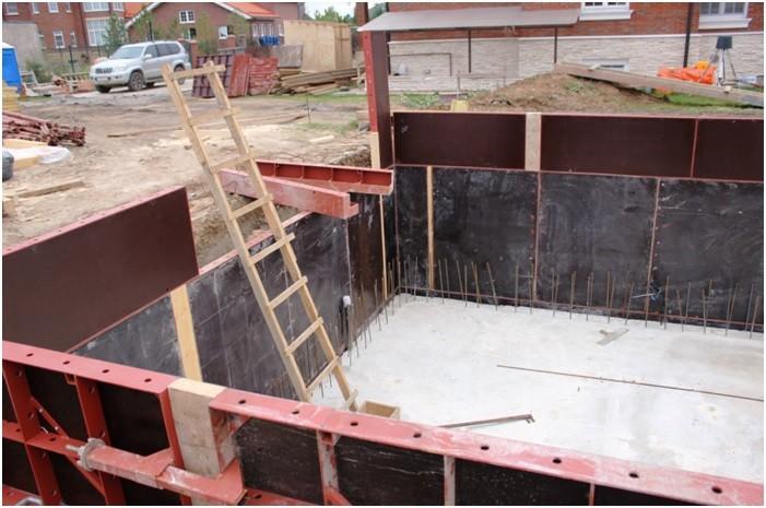 Преимущества бетонной опалубки