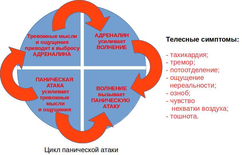 Паническая атака: причины, признаки, симптомы, лечение   психология