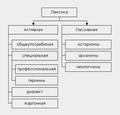 Общеупотребительные слова в русском языке: примеры