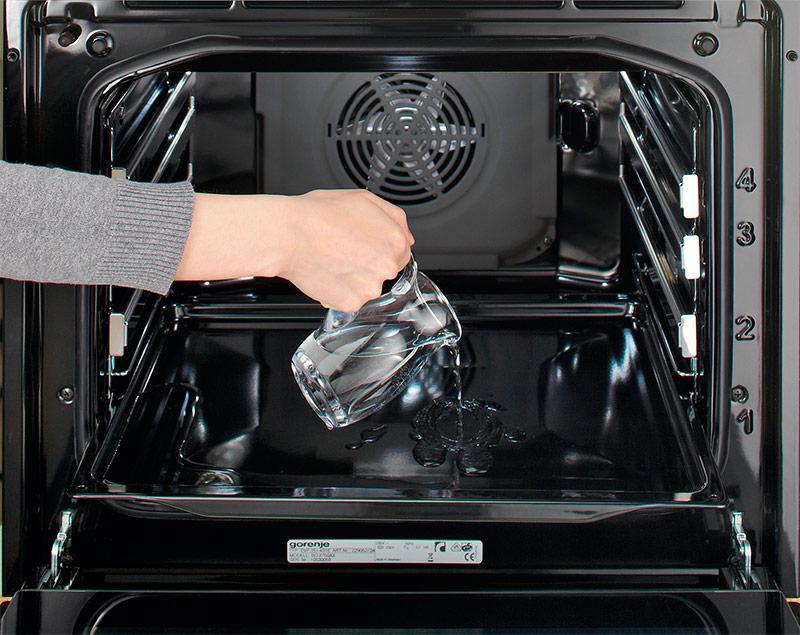 Гидролизная очистка духовки: что это такое, как сделать