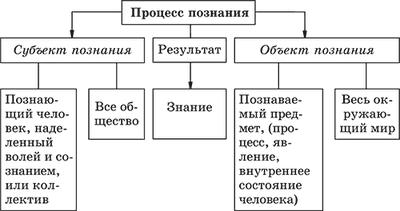 1. структура знания. чувственное и рациональное познание