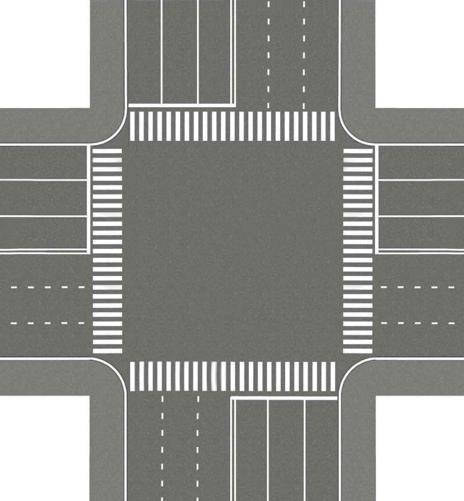 Как проезжать нерегулируемые перекрестки