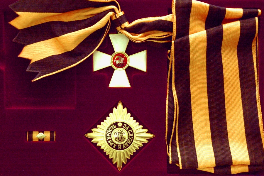 Георгиевский крест — википедия
