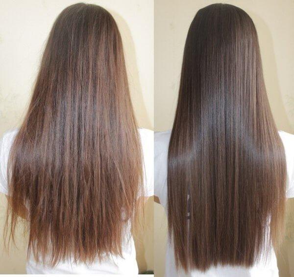 Керамическое выпрямление волос - что это такое,фото до и после,как сделать в домашних условиях,уход за волосами после процедуры