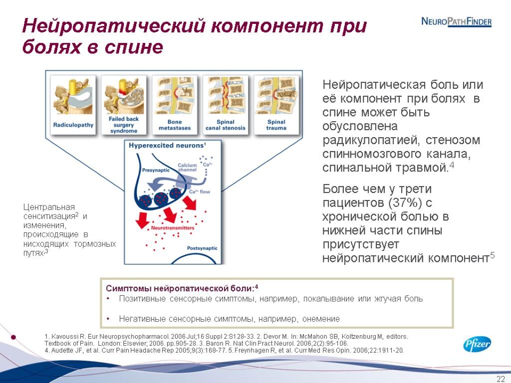 Лечение пациентов схронической нейропатической болью вобщей медицинской практике