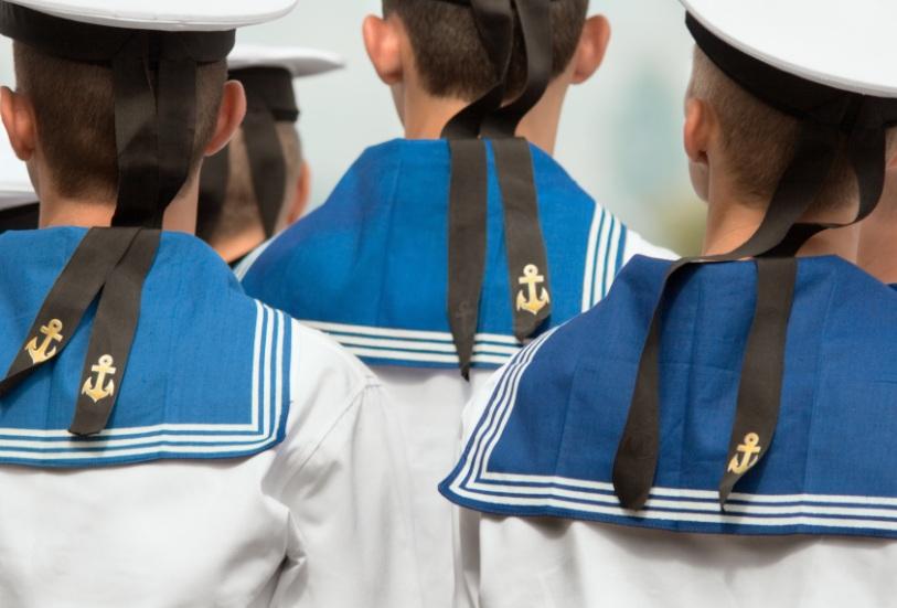 Почему у моряков на воротнике 3 полоски? гипотезы, фото и видео  - «как и почему»