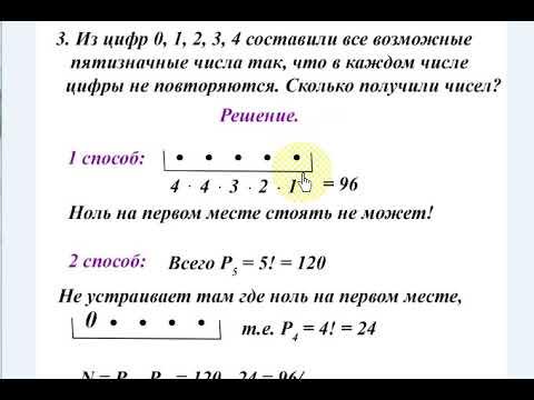 Комбинаторика - это что такое? элементы комбинаторики
