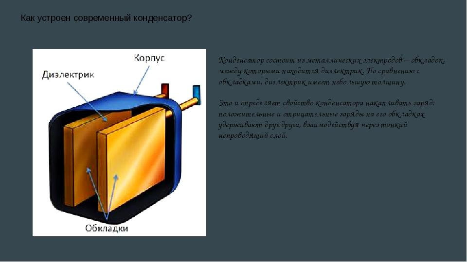 Конденсатор переменной емкости (переменный конденсатор) - маркировка, принцип действия