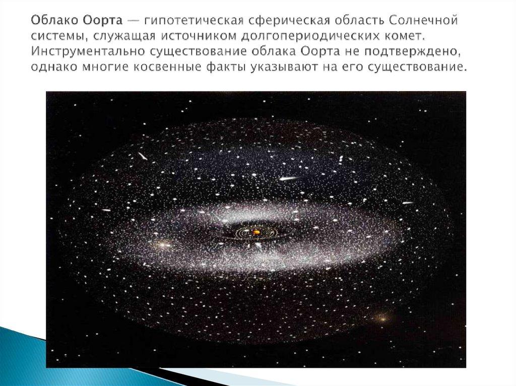 """Облако оорта – журнал """"все о космосе"""""""