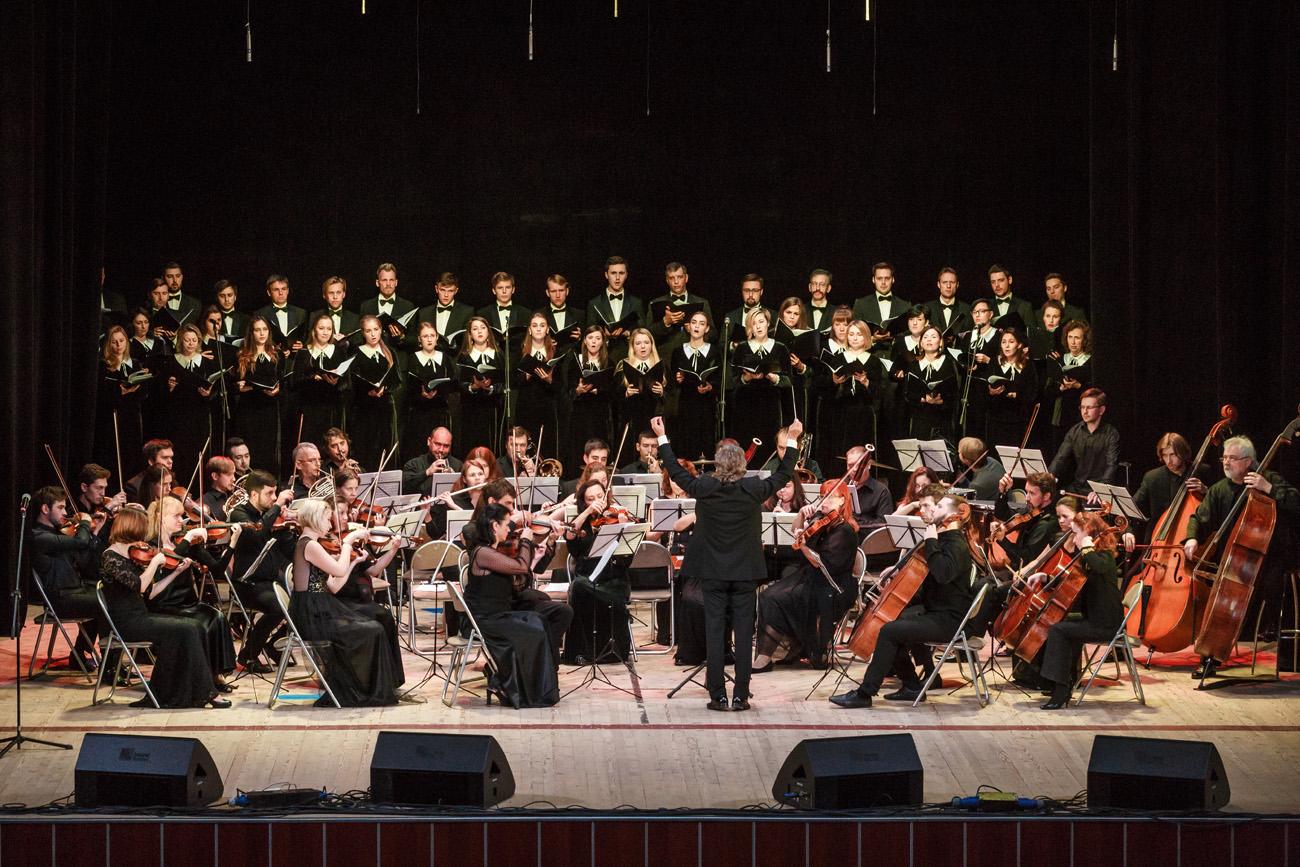 Виды оркестров, исполняющих инструментальную и симфоническую музыку