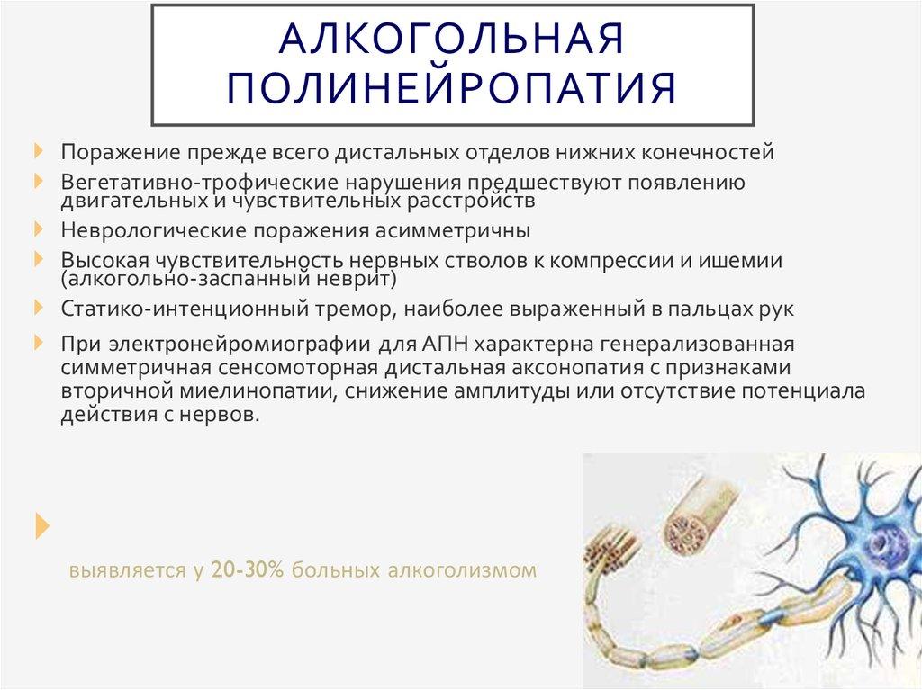 Причины полинейропатии, болезни, вызывающие полинейропатию