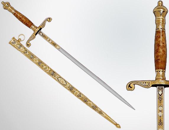 Нож стилет - итальянское холодное трехгранное оружие