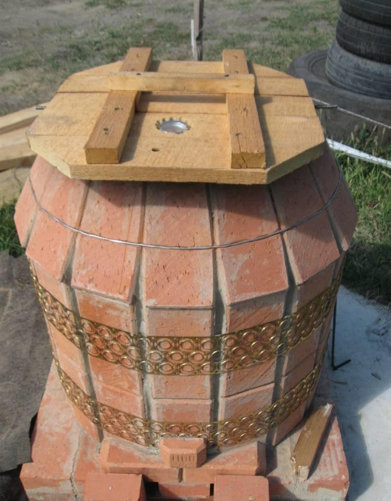 Тандыр своими руками - схемы и чертежи для строительства традиционной восточной печи