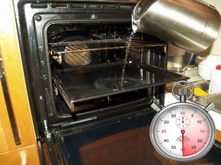 Виды очистки духовки — пиролитическая, гидролизная и каталитическая, какая лучше