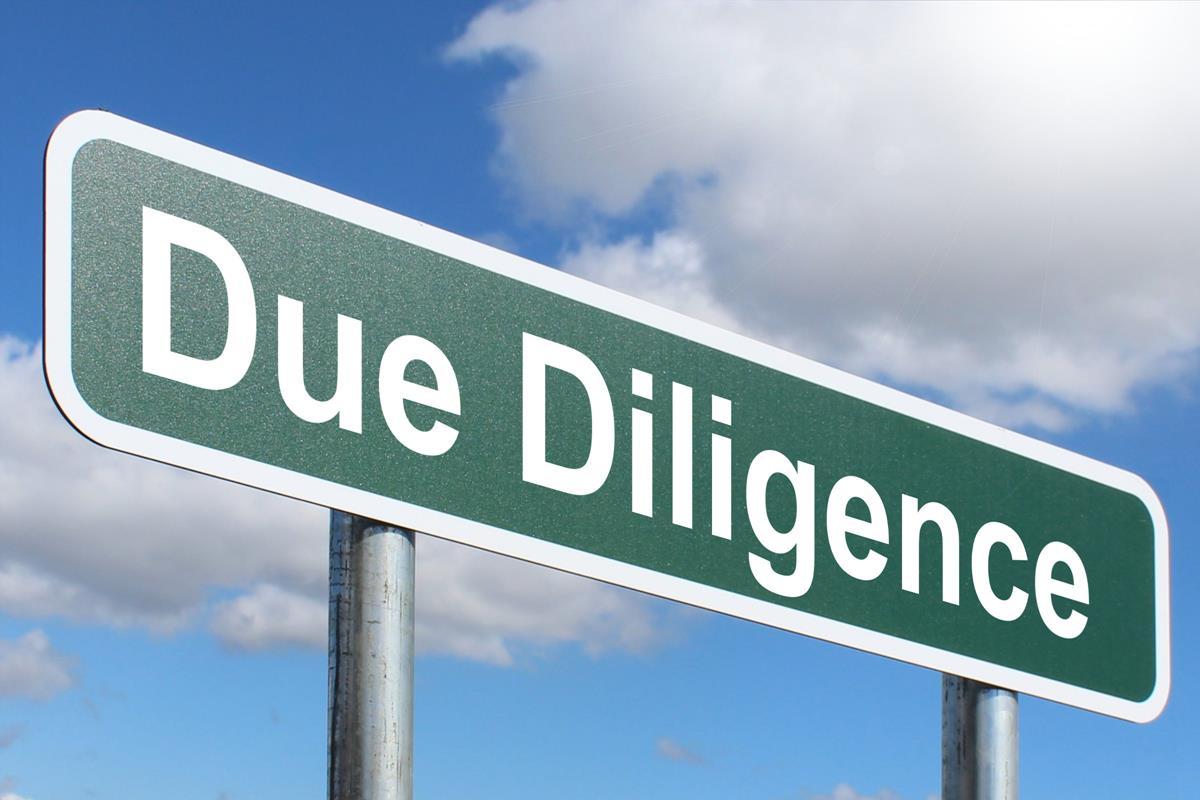 Due diligence – проверка на благонадежность: условия – стоимость – трудности