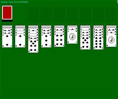 Описание пасьянса «паук (одна масть)» - пасьянсы - играем в карты онлайн