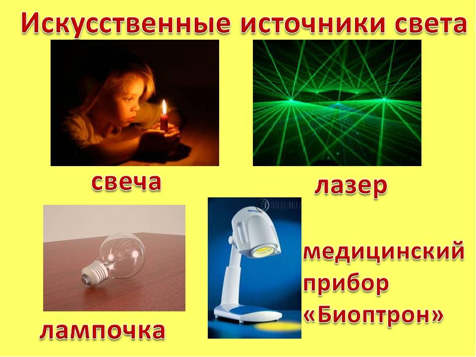 Искусственные источники света — википедия. что такое искусственные источники света