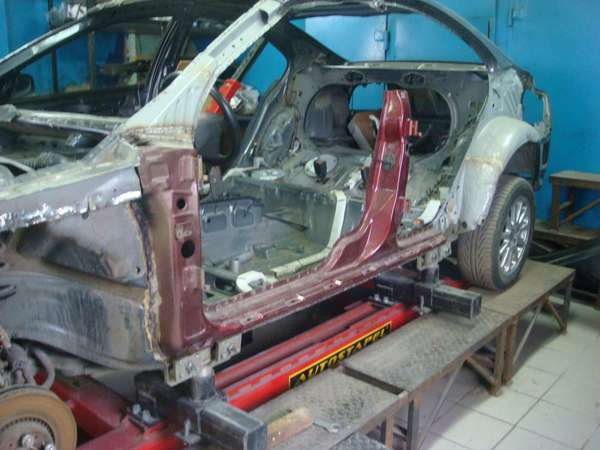 Стапель для кузовного ремонта и рихтовки авто своими руками: напольный, подкатной, платформенный