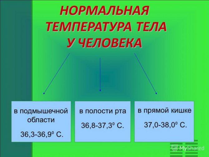 Причины появления субфебрильной температуры тела у мужчин и женщин