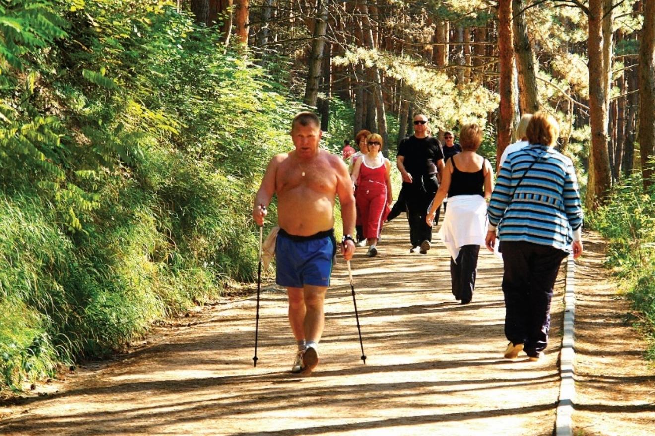 Терренкур как вид отдыха и санаторного лечения » отдых на природе. места, статьи, события.