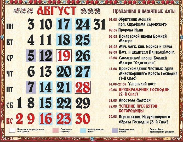 Что значит сплошная седмица в православном календаре