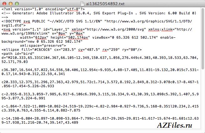 Векторный формат svg | seo-портал