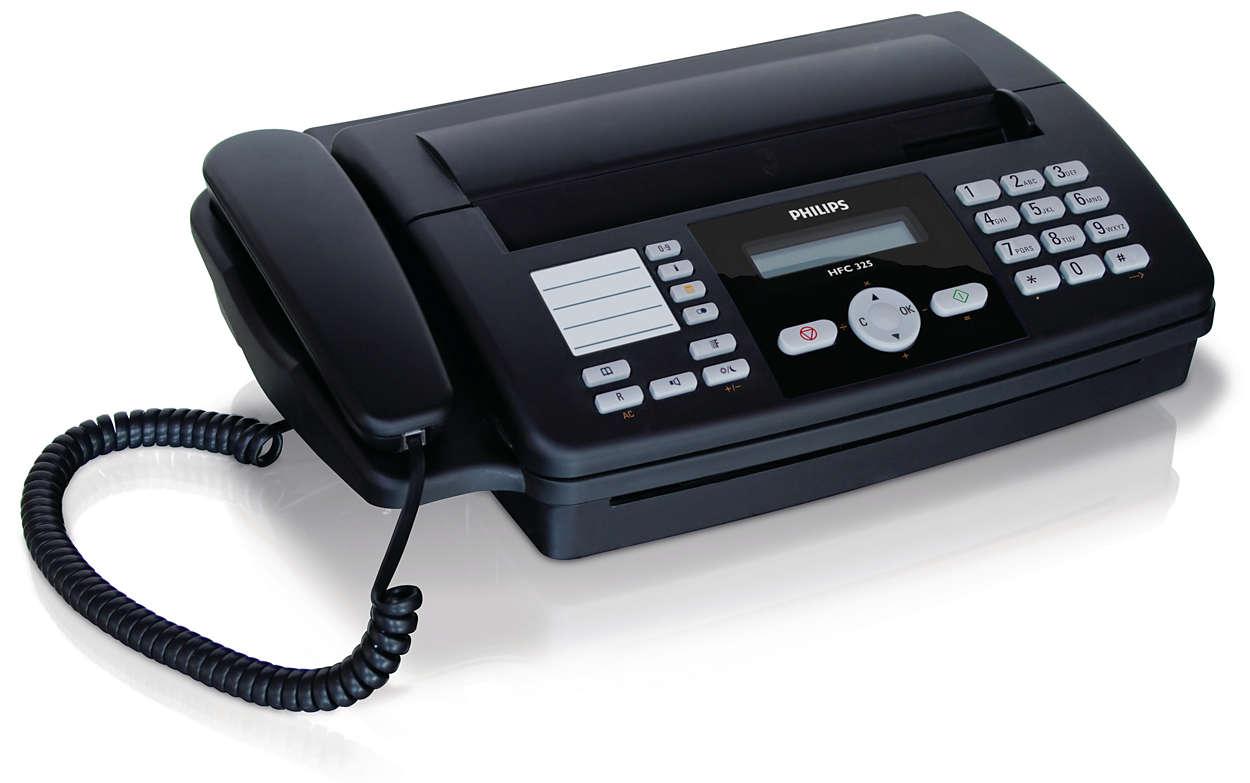 Как работает факс