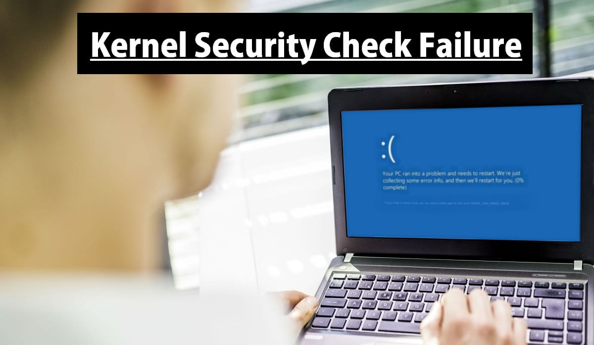 Bug check 0x139: kernel_security_check_failure