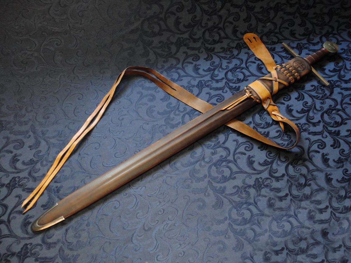 Как сделать кожанные, деревянные или пластиковые ножны для охотничьего ножа