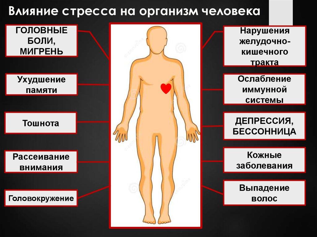 Стресс - причины, симптомы, стадии, виды, профилактика, лечение