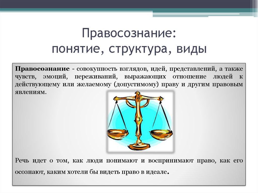 Правовое сознание и его функции