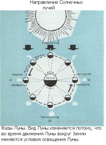 Видимое движение и фазы луны - звездный каталог. наша планета и то, что вокруг неё