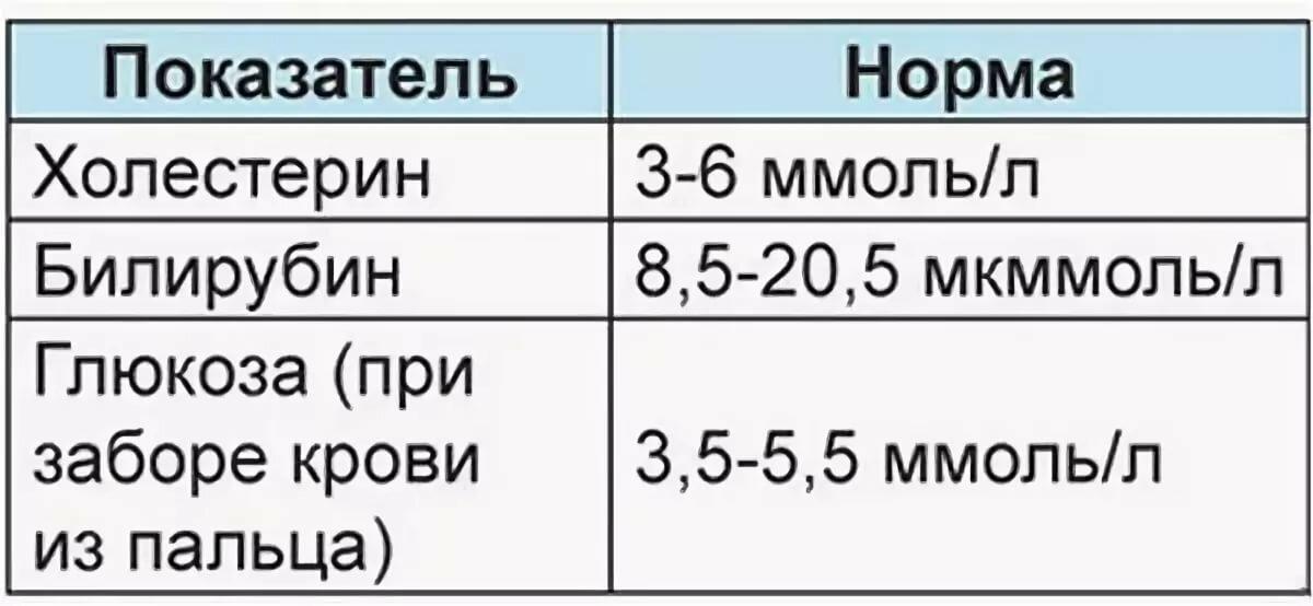 Билирубин в крови - причины высокого уровня  в общем анализе у детей и взрослых и таблица нормы