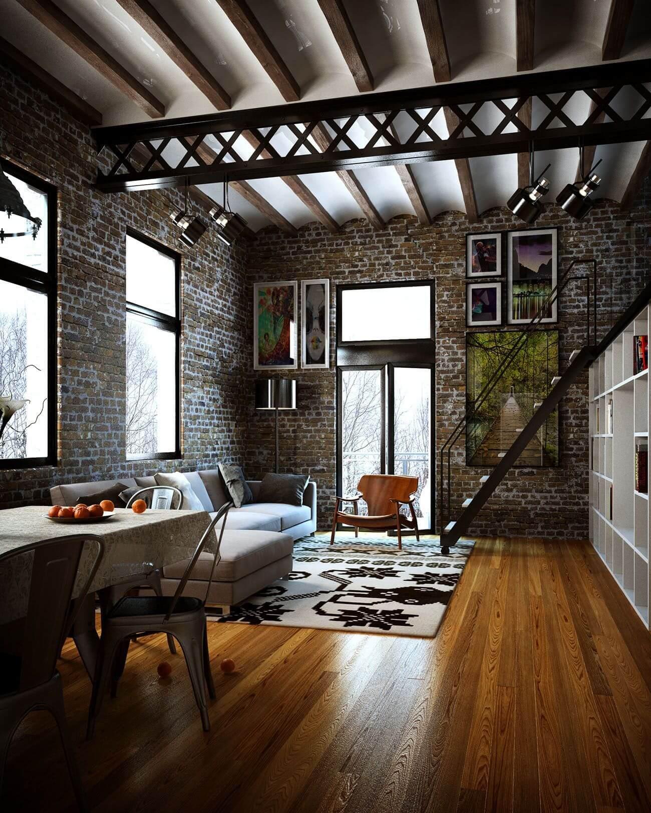 Что такое лофт (58 фото): функциональное и стильное жилье с индустриальным шармом - happymodern.ru