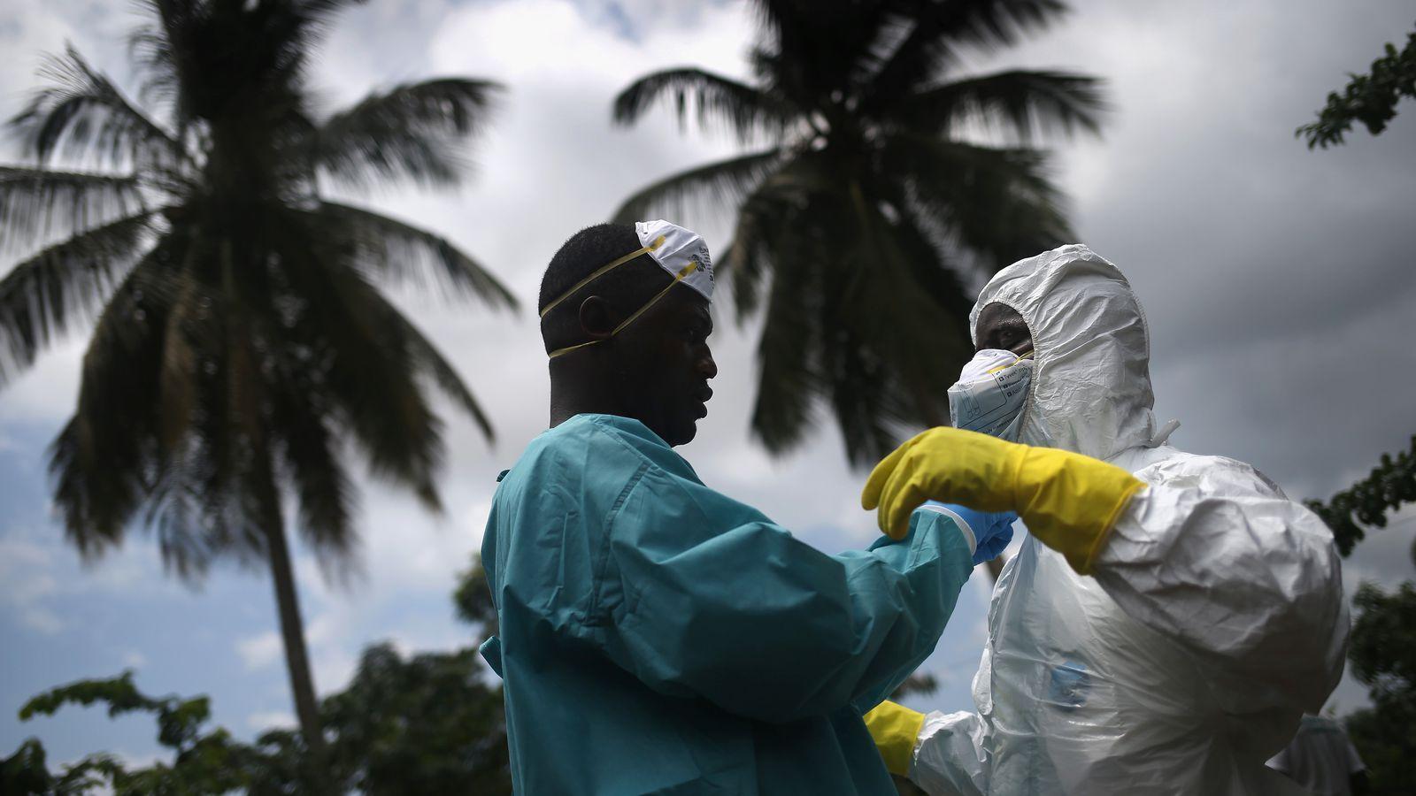 Вирус эбола - невидимая угроза миру